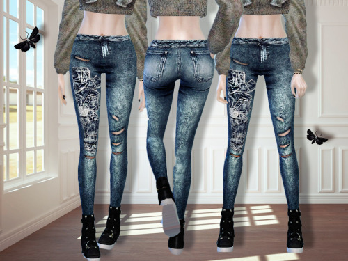 MissFortune Sims: Marice jeans