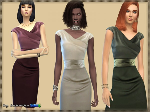 The Sims Resource: Dress Drapery Overlap by bukovka