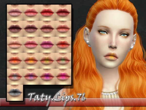 The Sims Resource: Lips 76 by Taty