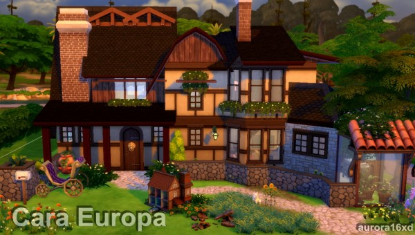 Sims My Homes: Cara Europa