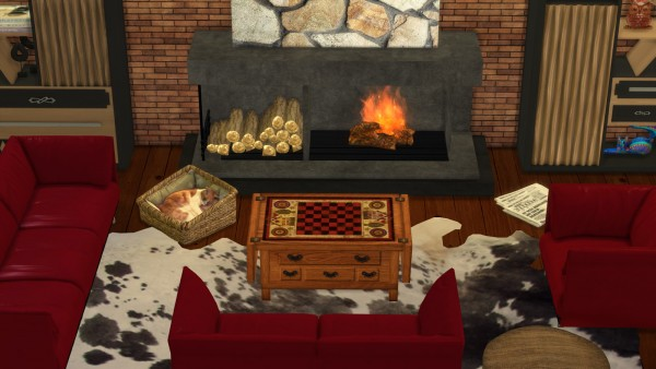 Leo 4 Sims: Sleeping cats and dogs