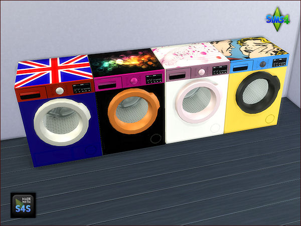 Arte Della Vita: 4 washing machines and dryer sets