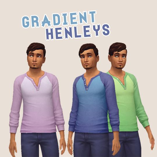 Hamburgercakes: Gradient Henleys