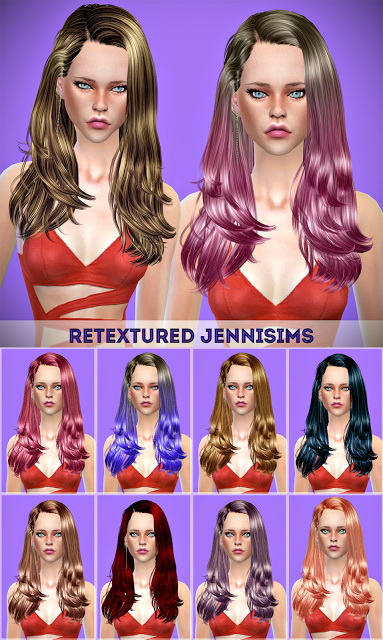 Jenni Sims: Newsea Gisele Hair retexture