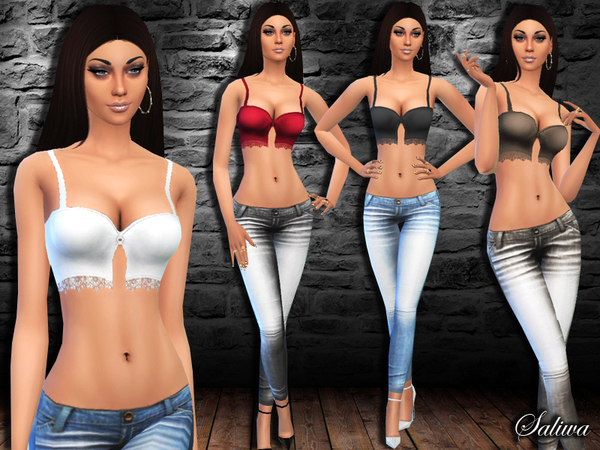 The Sims Resource: Venus Outfit by Saliwa