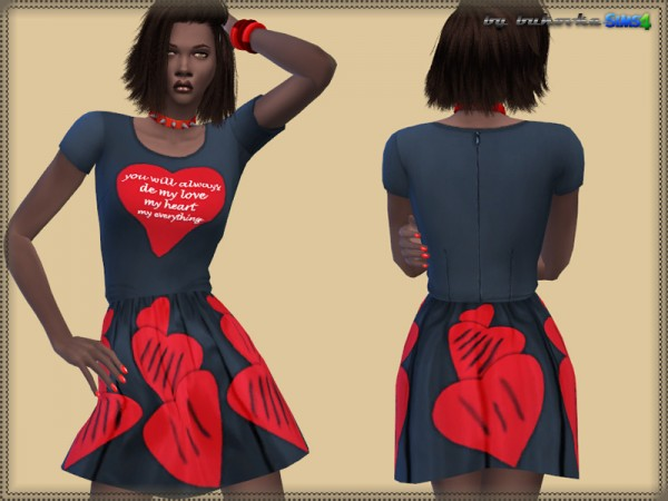 The Sims Resource: Dress My Heart by Bukovka