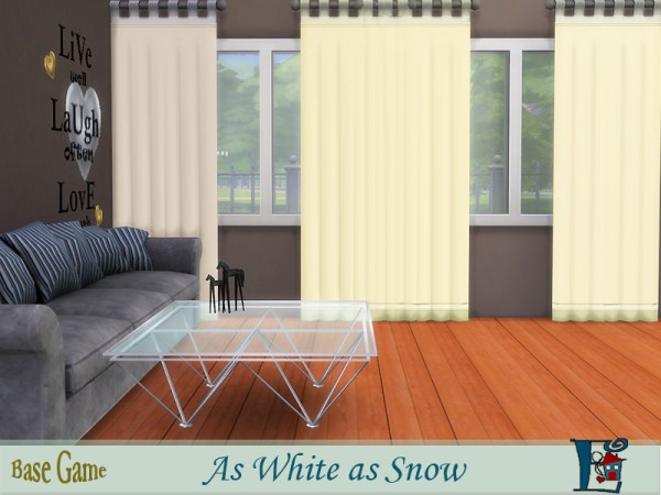 The Sims Resource: As White As Snow by evi