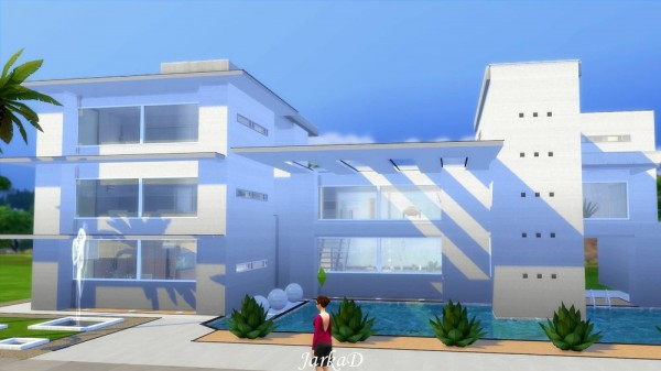 JarkaD Sims 4: Villa JASMINE