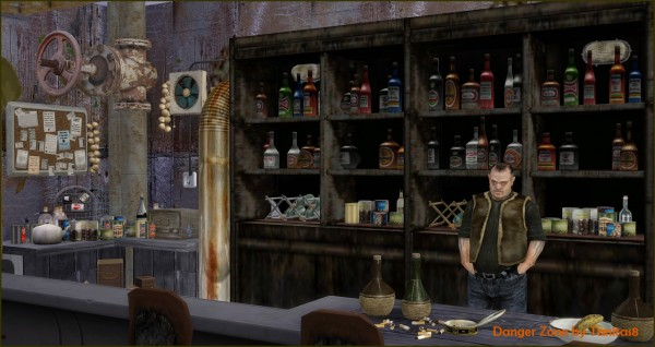 Tanitas Sims Danger Zone Bar Sims 4 Downloads