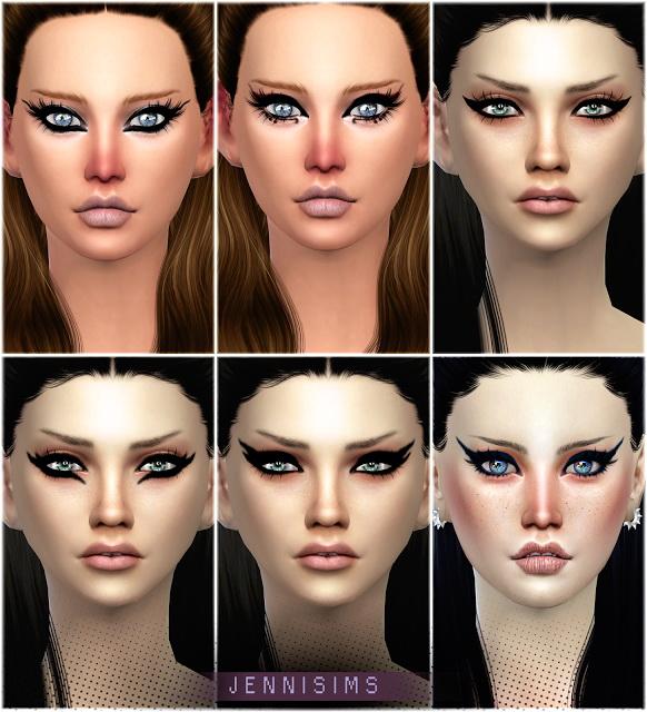 Jenni Sims: Exotic Eyeliners Vol. 4