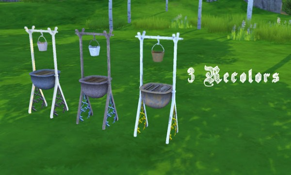 History Lovers Sims Blog: Early Civilization / Medieval Grill