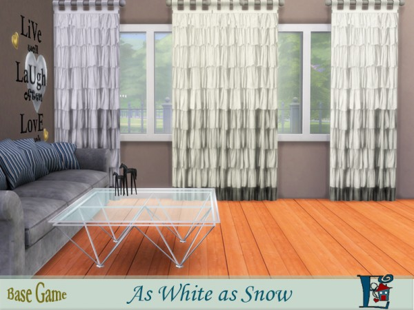how to make snow white on sims 4