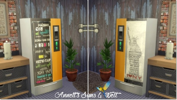 Annett`s Sims 4 Welt: Fridge with Pictures