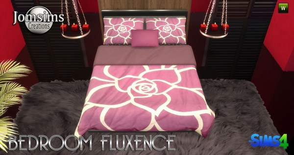 Jom Sims Creations: Fluxence bedroom