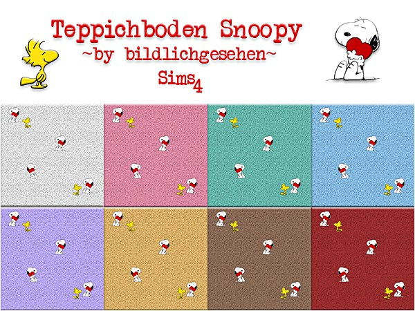 Akisima Sims Blog: Snoopy & Hello Kitty walls