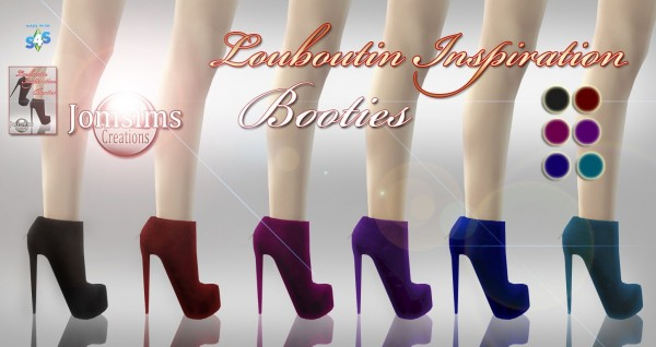 Jom Sims Creations: L. Inspiration shoes