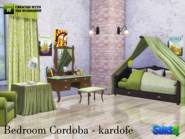 the sims resource bedroom cordoba by kardofe sims 4 downloads