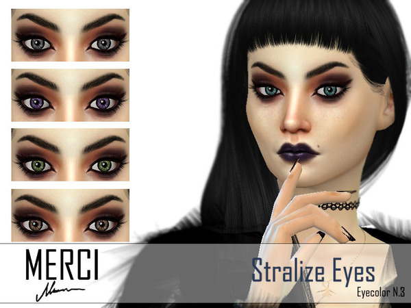 The Sims Resource: Stralize Eyes by Merci