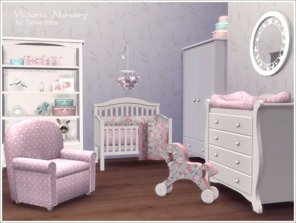 Sims By Severinka Victoria Nursery Sims 4 Downloads