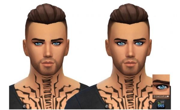 Simista: Winged Eyeshadow For Men