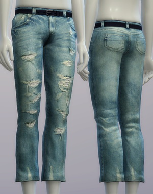 Rusty Nail: Vintage jeans 1 for male