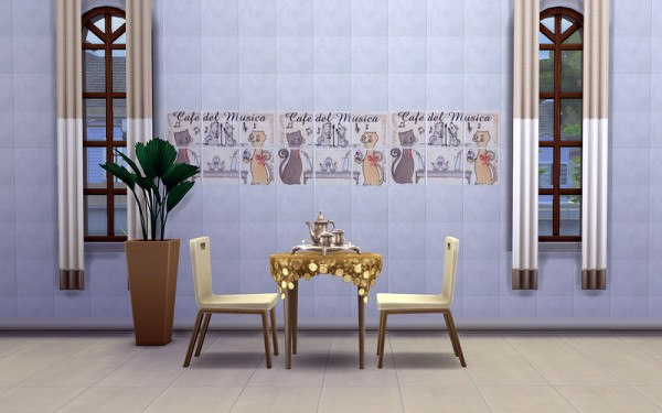 Ihelen Sims: Kitchen Panels