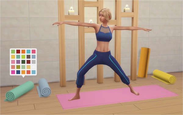 Veranka Yoga Mats Sims 4 Downloads