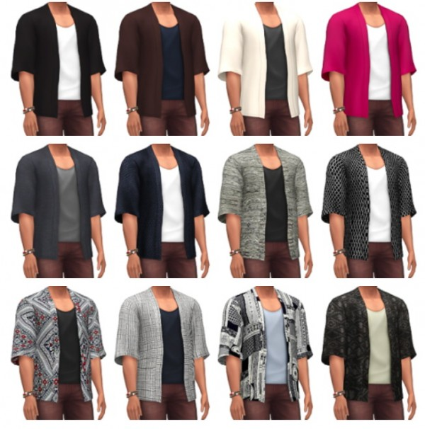 Marvin Sims: Kimono Shirts