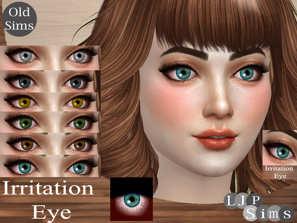 The Sims Resource: Irritation Eye by LJP Sims