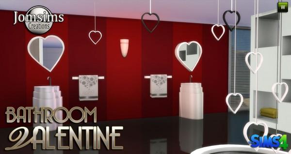 Jom Sims Creations: VALENTINE bathroom