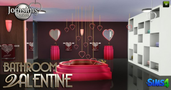 Jom Sims Creations: VALENTINE bathroom