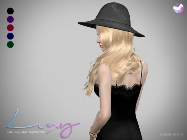 The Sims Resource: Lingerie Dress by LuxySims3