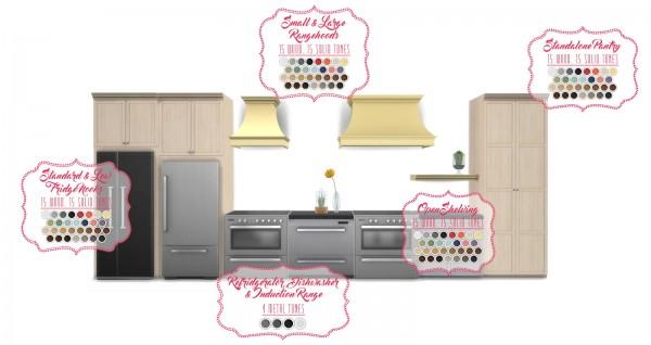 Simsational designs: Shaker Kitchen