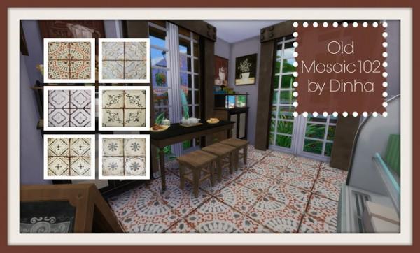 Dinha Gamer: Old Mosaic Floor 102