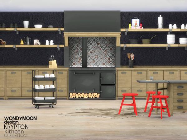 The Sims Resource: Krypton Kitchen by wondymoon