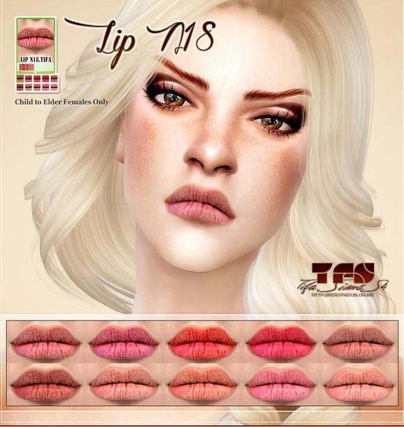 Tifa Sims: Lips N18