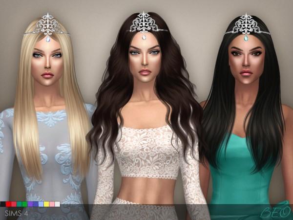 BEO Creations: Tiara Crystal Drop