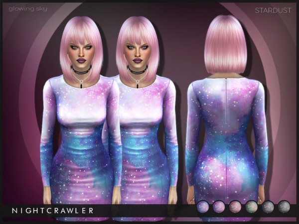 The Sims Resource: Stardust Dress by Nightcrawler