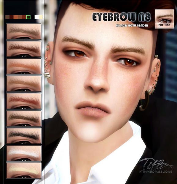 Tifa Sims: Eyebrow N8