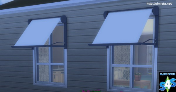 Simista Modern Window Awning Sims 4 Downloads