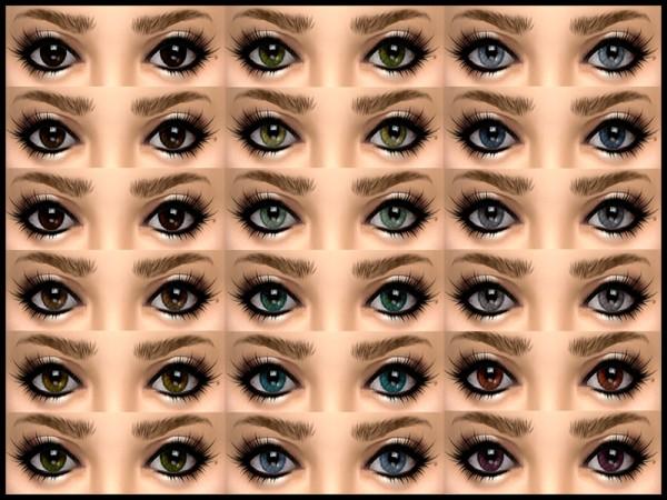 The Sims Resource: Tales DEFAULT Eyeset by joannebernice