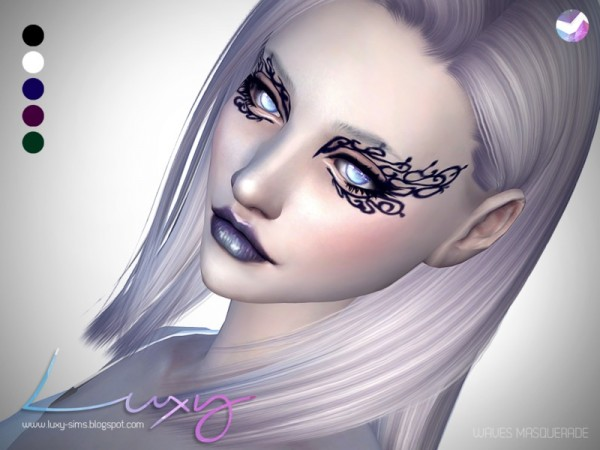 The Sims Resource: Waves Masquerade by Luxy Sims 3