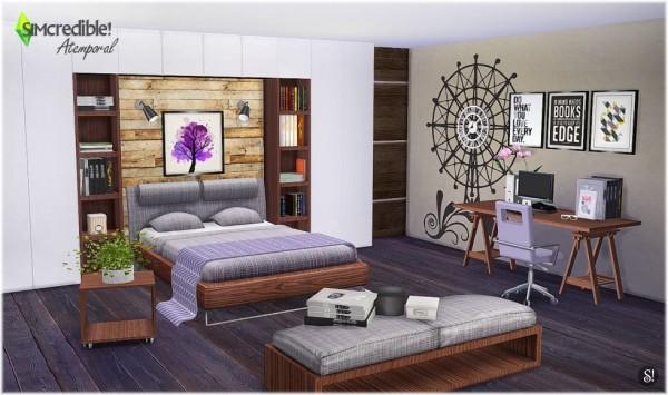 Simcredible designs atemporal bedroom sims 4 downloads - Atemporal sofas ...