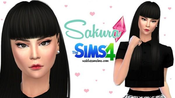 The Sims Resource: Sakura sims model