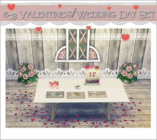 Sims 4 Cc S The Best Windows And Door Decor By Maximss: Sims 4 Designs: Valentine's