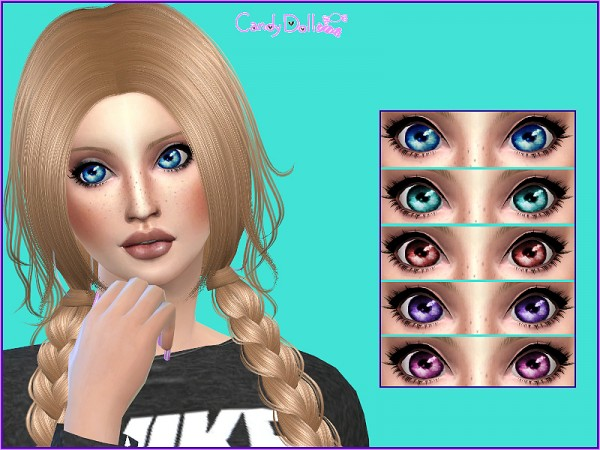 The Sims Resource: CandyDoll SuperCute Eyes Set by DivaDelic06