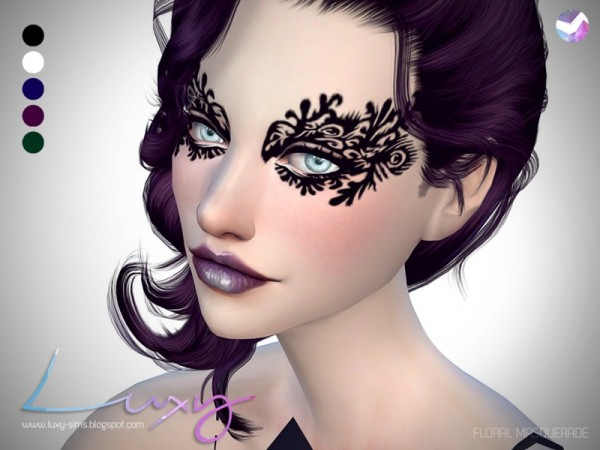 The Sims Resource: Floral Masquerade by LuxySims3