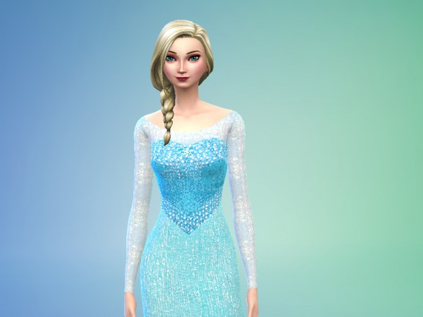 Mod The Sims Elsa From Frozen By Niharika Basu Sims 4