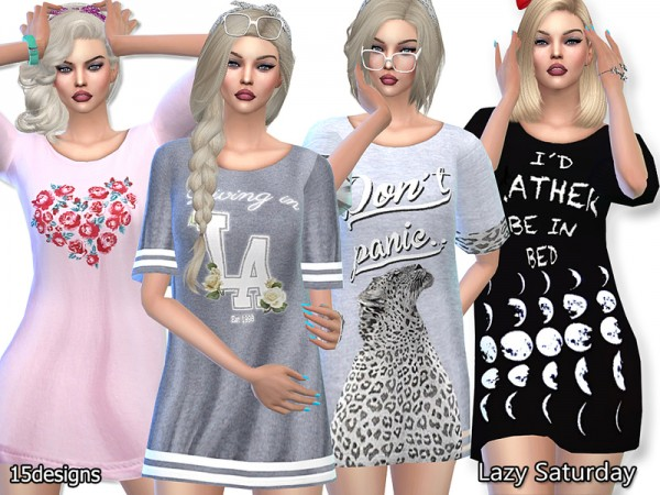 sleepwear Archives • Page 4 of 13 • Sims 4 Downloads