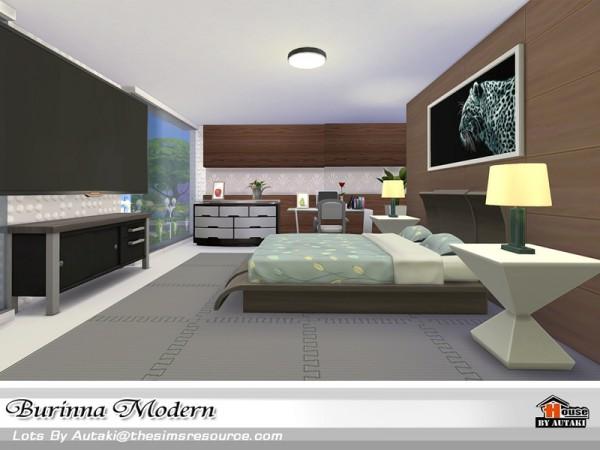 The Sims Resource: Burinna Modern house by Autaki
